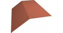 Коньки для кровли из металлочерепицы в Пензе Планка конька 190х190