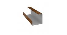 Доборные элементы (Блок-хаус/ЭкоБрус) Grand Line в Пензе Планка угла внутреннего составная нижняя