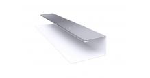 Металлические доборные элементы для фасада в Пензе Планка П-образная/завершающая сложная 20х30