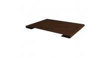 Металлические доборные элементы для фасада в Пензе Планка стыковочная простая 60мм