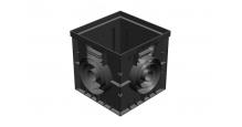 Дренажные системы Gidrolica в Пензе Точечный дренаж. Дождеприемник пластиковый 300*300