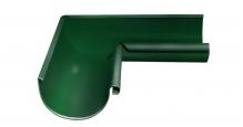 Металлическая водосточная система Grand Line 125/90 в цвете ral 3005 эластичная в Пензе Угол внутренний 90 градусов